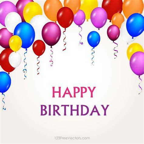Balon Ulang Tahun Happy Birthday herzlichen gl 252 ckwunsch zum geburtstag bei vectorportal