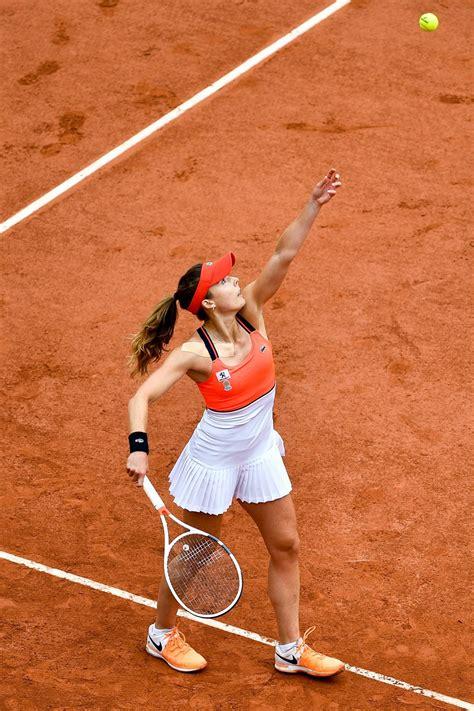 alize cornet french open tennis tournament  roland
