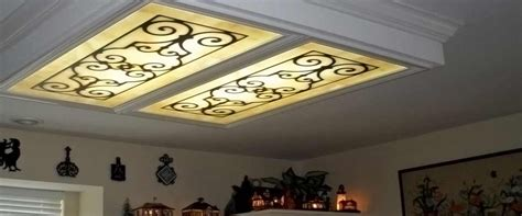 kitchen ceiling light covers fluorescent light covers fluorescent gallery
