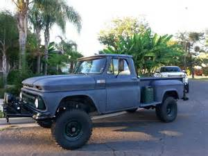 Find used 1965 chevrolet k10 4x4 lifted stepside pickup truck protecto