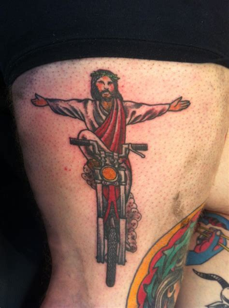 motorbike tattoo designs biker motorcycle tattoos