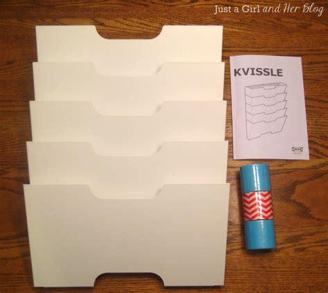 ikea mail organizer ikea magazine rack makeover