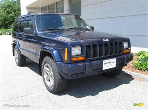 2000 jeep classic 2000 patriot blue pearl jeep cherokee classic 4x4