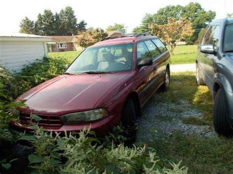 burgundy subaru legacy purchase used 1996 subaru legacy outback wagon 4 door 2 5l