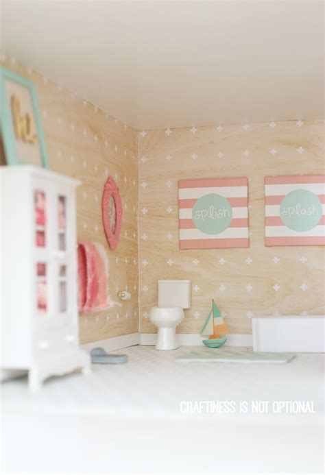 diy dollhouse bathroom diy dollhouse master bedroom sewing nook bathroom