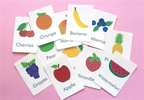flash cards all free printables
