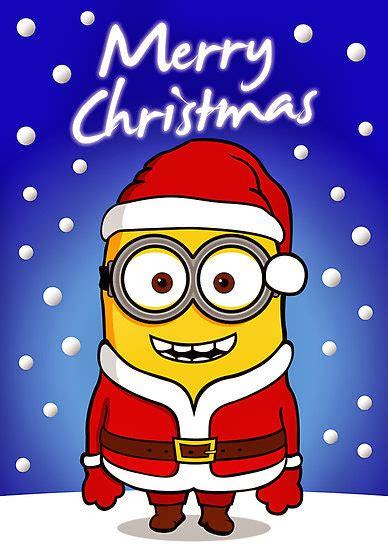 bonita imagen de feliz navidad de minion minions especial navidad para imprimir gratis ideas y