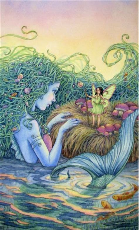 aquamarine mermaid fairy water elemental 16 x 22 image gallery mermaid fairies