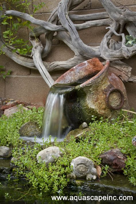 unique backyard  garden fountains