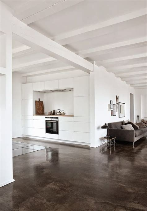 vosgesparis a bright apartment with concrete floors norm architects furniture living room oh that cement floor decor