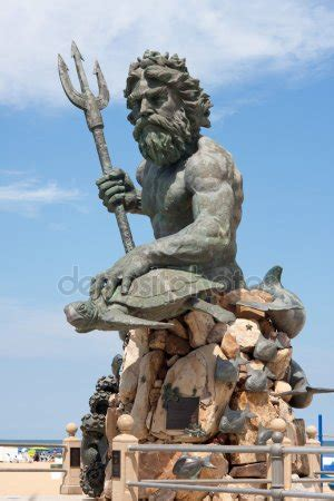 tattoo prices virginia beach giant king neptune statue in va beach stock photo