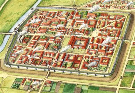 Ancient Roman House Floor Plan caistor by norwich une ville romaine en plein d 233 clin le