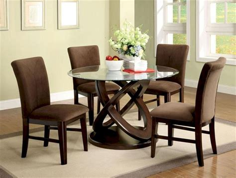 round glass dining room table sets 24 ways for enjoyable dinner with awesome dining set ideas