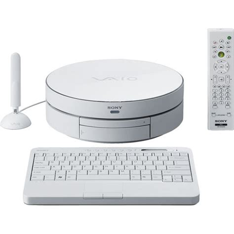 sony vaio vgx tpew living room pc computer white