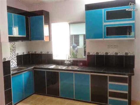 warna kabinet dapur moden desainrumahidcom