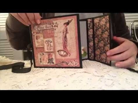 scrapbooking tutorials mini album sisters 17 best images about videos my sisters scrappers mini
