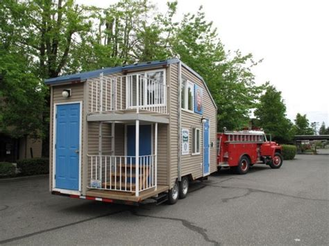 safety tiny house on a trailer tiny house pins