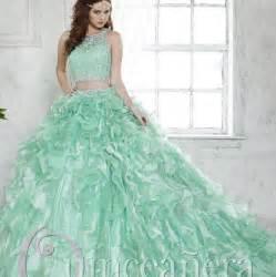 mint color quinceanera dresses mint green beaded lace two pieces quinceanera dresses 2016