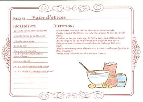 davaus modele fiche recette cuisine word avec des