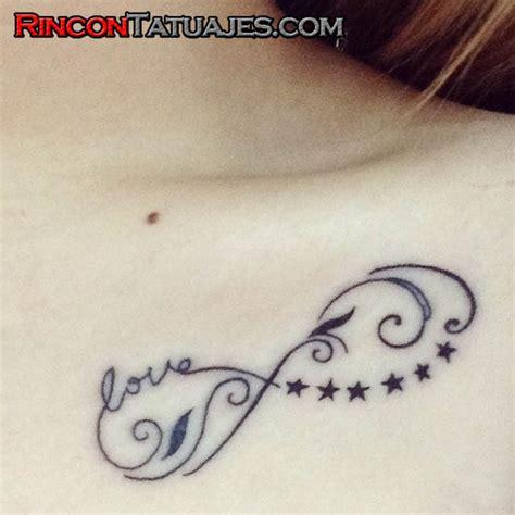 imagenes tatuajes infinito con nombres tatuajes de infinito 187 ideas y fotograf 237 as