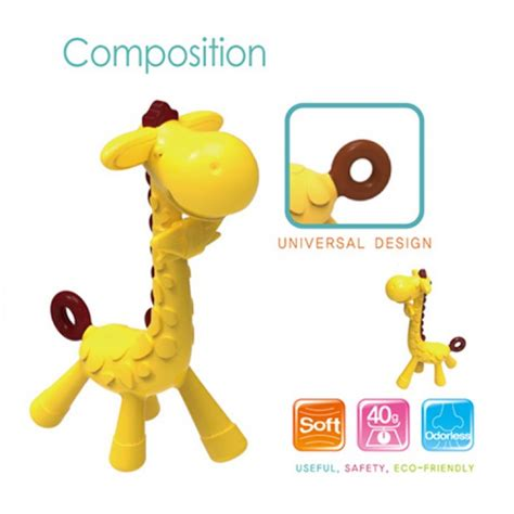 Ange Made In Korea Ansso Snack Cup Wadah Tempat Cemilan Bayi 61 ange giraffe teether