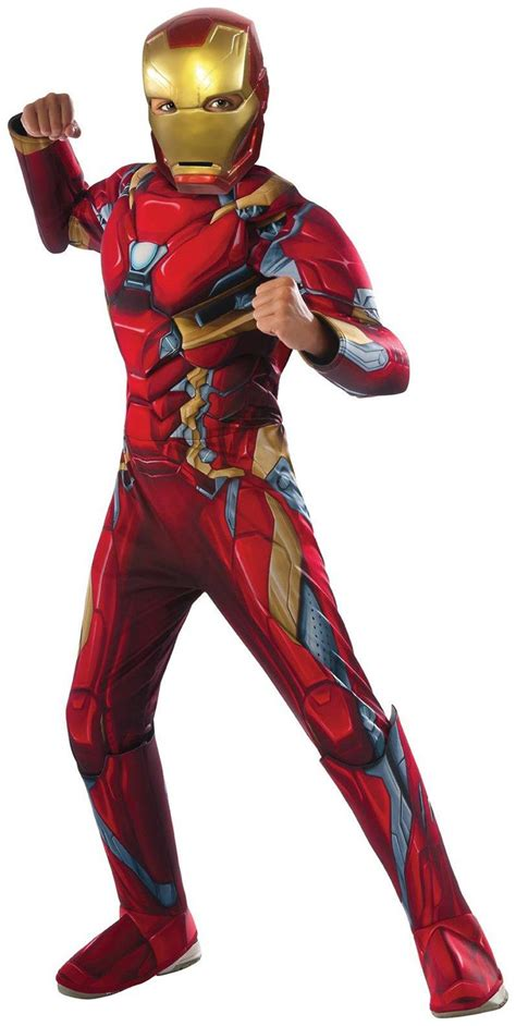 marvels captain america civil war deluxe iron man muscle