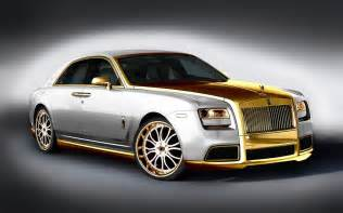 Rolls Royce Ghost Gold Rolls Royce Ghost By Fenice More Powerful