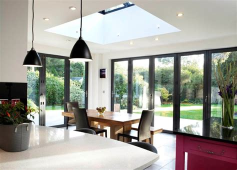 Contemporary Dining Room Table by Modern And Contemporary Bespoke Glass Extensions