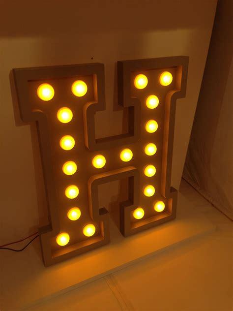 lettere led lettre deco led bulb letter