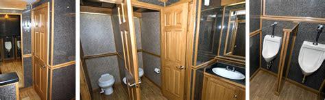 nice portable bathrooms portable restroom trailers luxury models