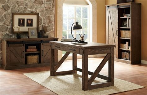 22 Home Office Furniture Designs Ideas Design Trends Rustic Home Office Desks