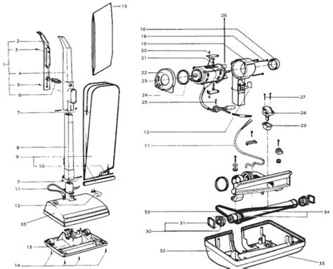 rainbow vacuum parts diagram wiring diagram on kirby vacuum switch rainbow vacuum parts
