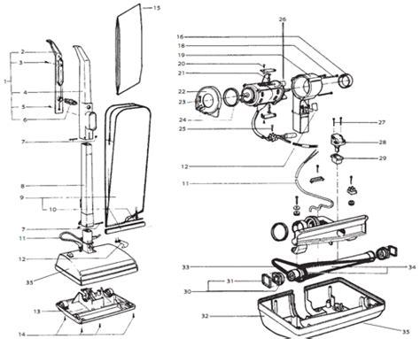 oreck xl vacuum parts