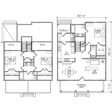 2 story bungalow floor plans 3 bedroom two story house plans loft bedrooms two bedroom
