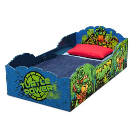 teenage mutant ninja turtles toddler bed delta children teenage mutant ninja turtles convertible