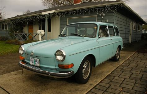 old volkswagen type 3 old parked cars 1972 volkswagen type 3 wagon