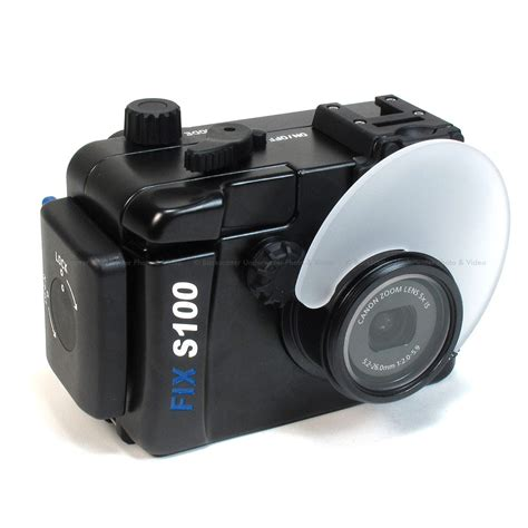 camara canon s100 fisheye fix s100 underwater housing for canon powershot
