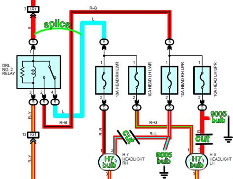 projector headlight wiring diagram wiring diagram with