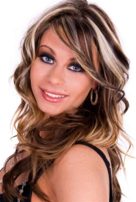 edgy highlights for brown hair highlighted hair for brunettes hair with blonde