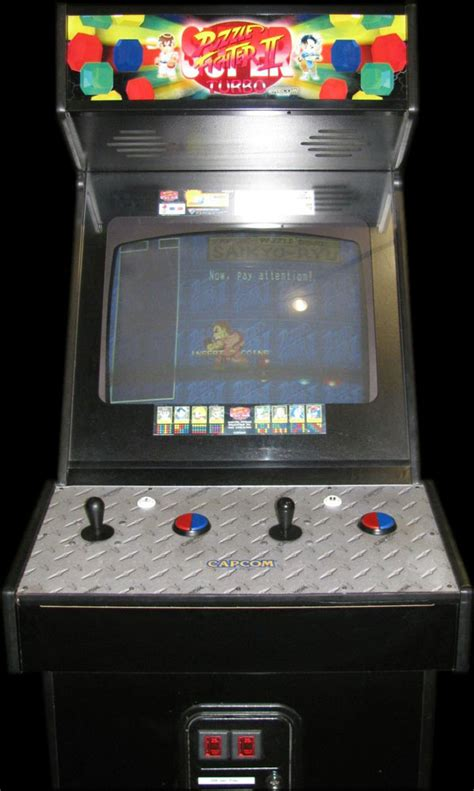Fighter Ii Arcade Cabinet puzzle fighter ii turbo 960529 rom