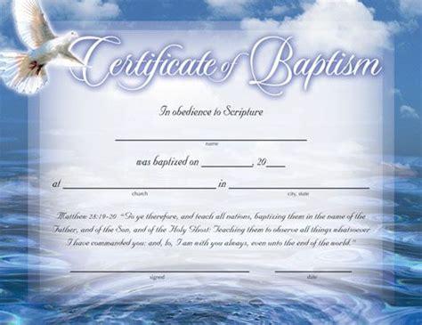 catholic baptism certificate template baptism certificates free certificate of baptism