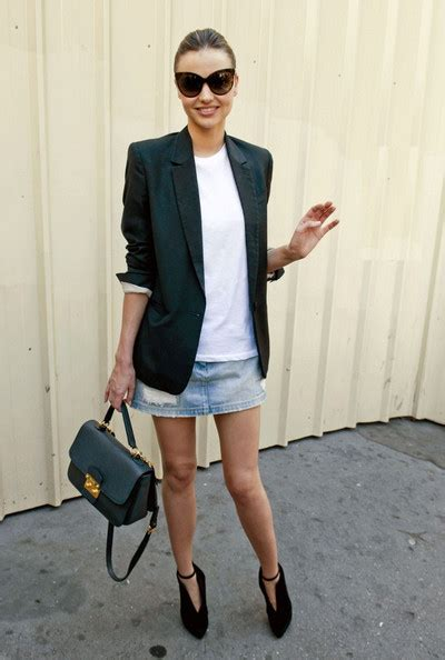 Blazer Miranda Kerr miranda kerr blazer miranda kerr outerwear looks