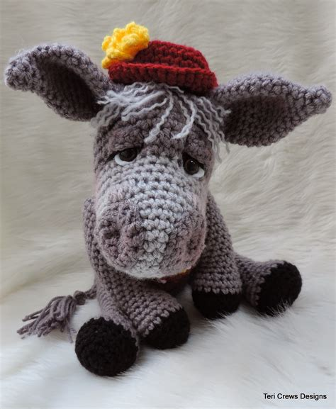 pattern crochet new teri s blog new donkey crochet pattern