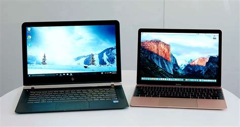 Macbook M apple macbook vs hp spectre superthin laptop showdown gearopen