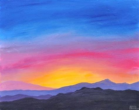 painting acrylic landscapes easy way easy acrylic painting landscape learn the basic acrylic