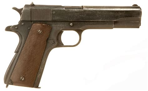 deactivated wwii colt manufactured 1911a1 allied