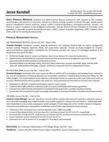 Finance Director Resume Examples Finance Manager Sample Resume Best Resume Sample