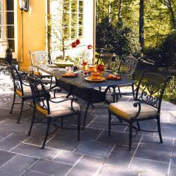 Hanamint Grand Tuscany Patio Furniture by Grand Tuscany Patio Furniture Dining Set Hanamint