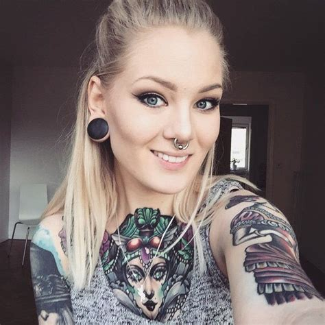 katrin berndt tattooed models and girls