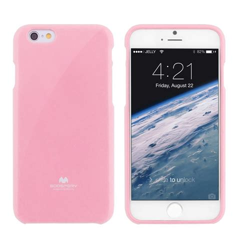 Jelly For 9 7 Premium Casing Original apple iphone 6 4 7 quot premium jelly pink by goospery